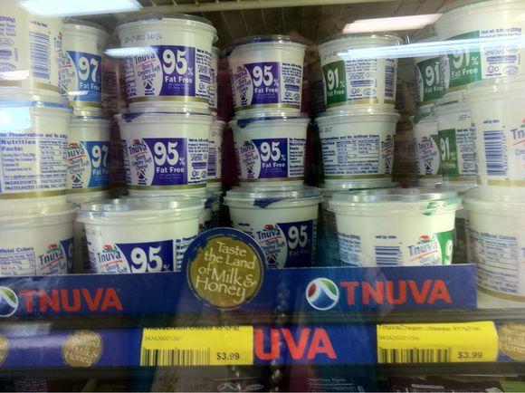 מחירי מוצרי המזון  הישראלים בקליפורניה .