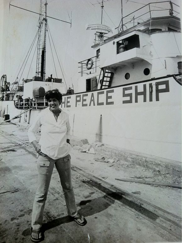 Voice of peace ship 1978