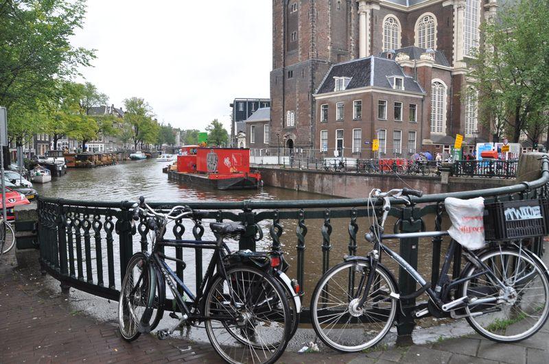Amsterdam in the rain 001