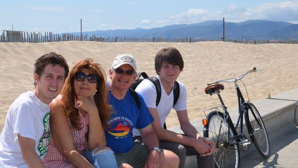 Mother's Day Venice beach California